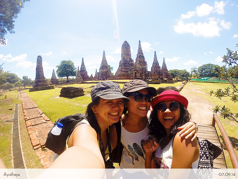 Thailand Temples Hopping Ayuthaya