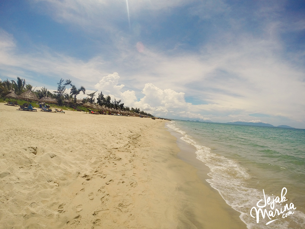 Finding Beach in Hoi An, Vietnam