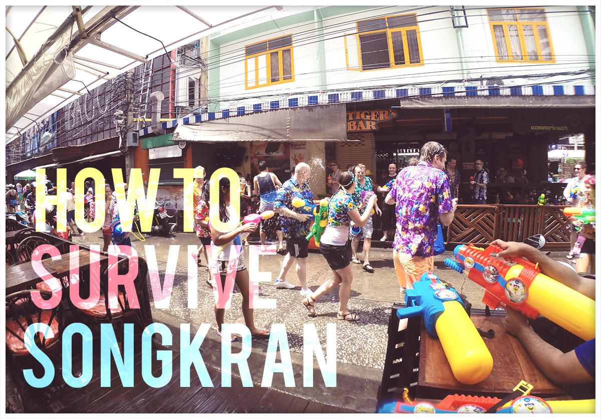 Songkran Guide in Bangkok, Thailand