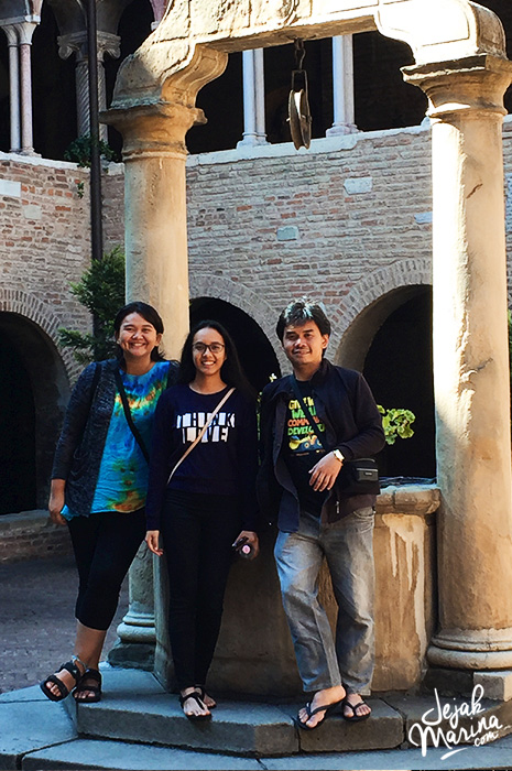 Marina and Friends in Seven Churches Bologna Italy