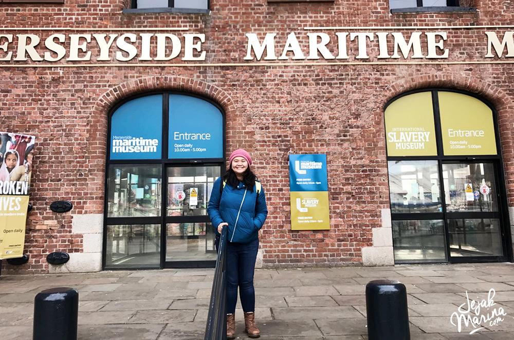 Marina in Maritime Museum Liverpool