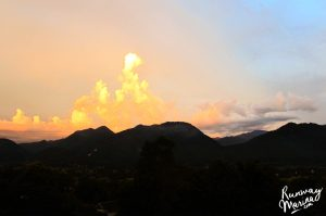 Sunset at Pai