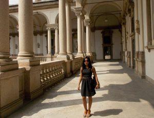 Thia at Pinacoteca di Brera, Painting Gallery in Milan